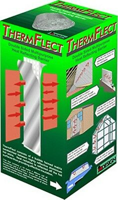 Radiator Reflectors | Thermflect 10M Roll Heat Reflecting Barrier