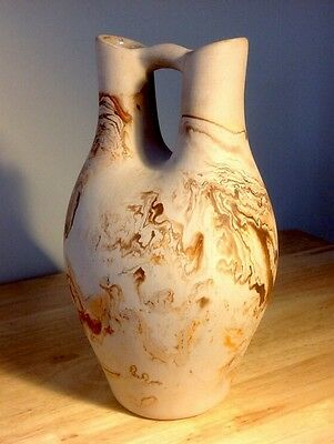 Vintage Nemadji pottery wedding vase