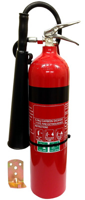 NEW Fire Extinguisher 5kg CO2 Carbon Dioxide Switch Rooms Electrical Rooms