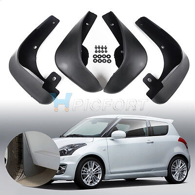 For Suzuki Swift 2011 2012 2013 Car Fender Mud Flaps Splash Guards Mudflaps