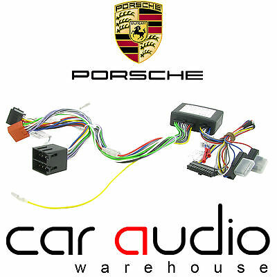Connects2 CT10PO01 Porshce Boxster 98 On Bluetooth Parrot SOT T-Harness ISO Lead
