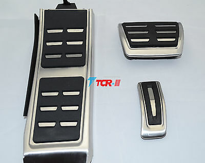 Plug&Play DSG Gas Brake Foot Pedal Cover For AUDI A4 S4 A5 A6 S6 Q5 S5 RS5 A7