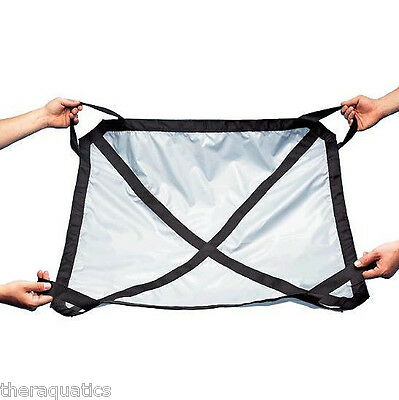 """36""""Lx 36""""W TRANSFER SLING Nylon Reinforced Handles Therapy Rehab BED Care 35746"""