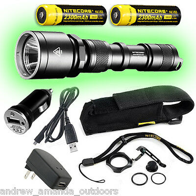 Nitecore MH25 Rechargeable Flashlight 960lm w bonus battery and USB wall charger