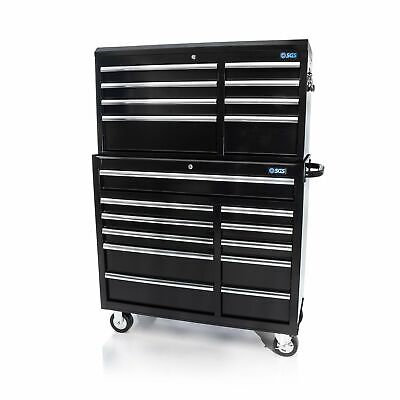 """42"""" Professional 19 Drawer Tool Chest & Roller Cabinet"""
