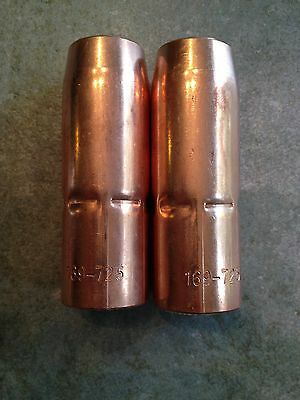 "3  MIG Guns 5//8/"" for Tweco No 2 Pack ITEM 276-Thermacut 23-62 Nozzles"