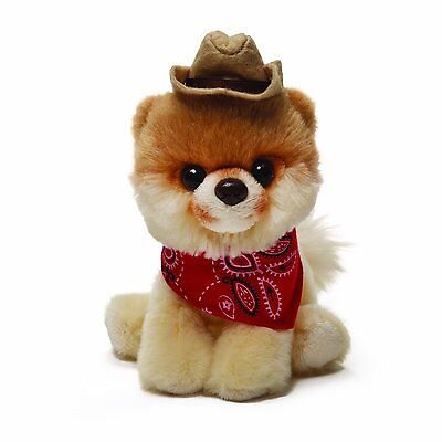 GUND Itty Bitty Boo - Dressed as A Cowboy- The Worlds Cutest Dog - Soft Toy
