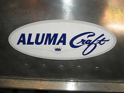 Alumacraft logo sticker/decal for '60's/70's models