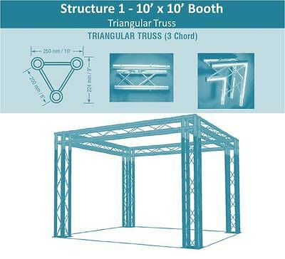 10x10 Truss Trade Show Booth