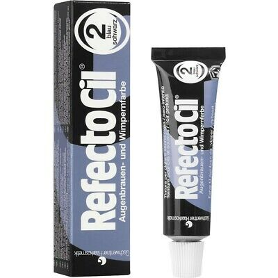 Refectocil Dye Blue Black Eyelash and Eyebrow Professional Tint 15ml Tinting