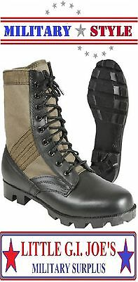 Jungle Boots Olive Drab Green Military Style Jungle Boots Vietnam Style 5080 A