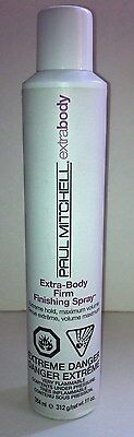 PAUL MITCHELL EXTRA BODY FIRM FINISHING HAIR SPRAY EXTREME HOLD 11 OZ NEW