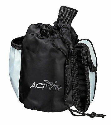 Activity Baggy Bag Dog Treat Dispenser with 3 Pockets & Belt Loop