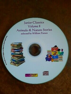 Kids Childrens Junior classics 8 - Animals & Nature audio book collection Mp3 CD