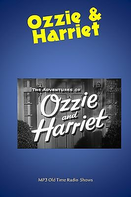 Adventures of Ozzie & Harriet   58 (OTR) Old Time Radio Shows MP3 on a single CD