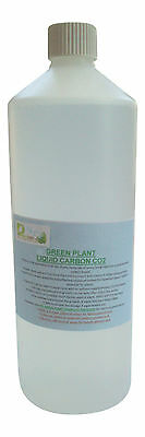 Green Plant Liquid Carbon CO2 for planted tank. Sizes from 250ml to 5000ml