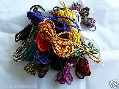 Walking, Hiking Boot/Shoe Round Laces 150cm long approx 5mm