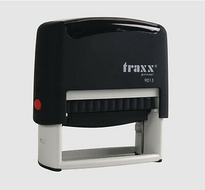Custom Self Inking Rubber Stamp 9013 4 lines  USA SELLER