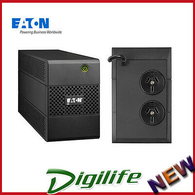 Eaton 5E850i 5E 850VA/480W Line Interactive UPS Tower with AVR