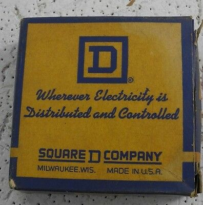 Square D Replacement Contacts Kit #9998 SA-21 Size 1 Manual Start - NEW