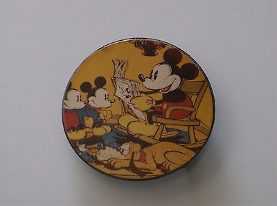 Vintage Mickey Mouse Belt Buckle