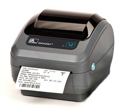 102mm x 50mm White Thermal Direct Zebra Printer Labels 500 Per Roll 25mm Core