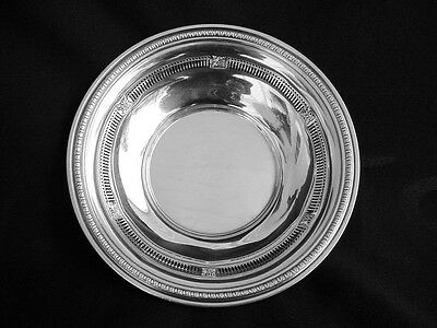 Fine Gorham Sterling Reticulated Antique Candy Or Nut Bowl, A Classic