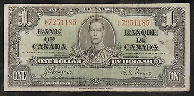 BANK OF CANADA - 1937 $1 Note - L/N - Signed Coyne & Towers - NCC