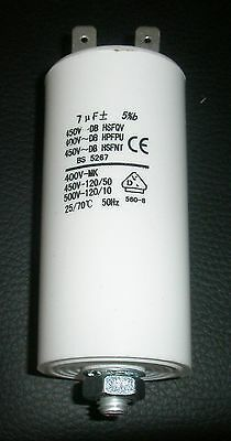 CAPACITOR  7 uF TO SUIT FISHER  & PAYKEL DRYERS