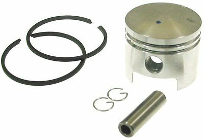 Piston Kit for 49cc mini 2-stroke engines. 12mm piston, rings, pin and clips