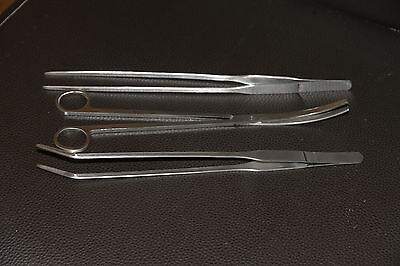 Tweezers and Scissors for aquarium plants