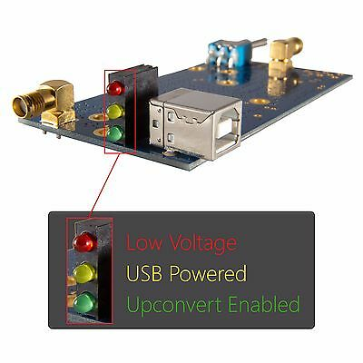Ham It Up v1.3: RF Upconverter For SDRs and RTL-SDR; R820T RTL2832 HF Converter