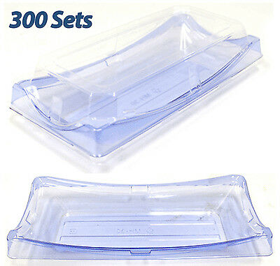 """Disposable Sushi Containers 9.4""""x 4.5"""" Plastic Sushi Box/Takeout/To Go"""