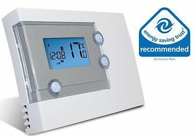 Salus RT500 Programmable Digital 5/2 or 7 Day Room Thermostat Heating Control