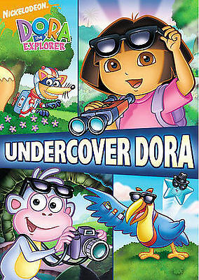 Dora the Explorer - Undercover Dora (DVD, 2008, Sensormatic Packaging) VG
