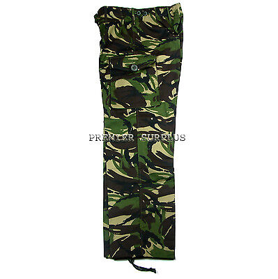 Genuine British Army Soldier 95 DPM Camo Trousers Pants, 2000 Issue, NEW