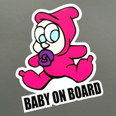 Baby on Board Babyaufkleber Kinder Schnuller Sticker Aufkleber Auto dapper