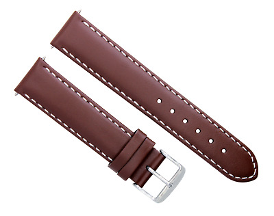 24Mm Pam Leather Watch Strap Band For 44Mm Panerai Light Brown Tan Ws #4