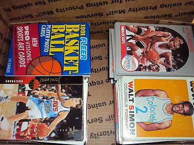 Mixed Lot Of Basketball Cards