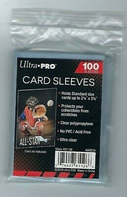 10,000 Ultra Pro Sports Card Soft Penny Sleeves FREE SHIPPING 10000