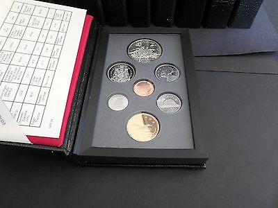 1980-1989 Canada double dollar sets (a) (10 sets)