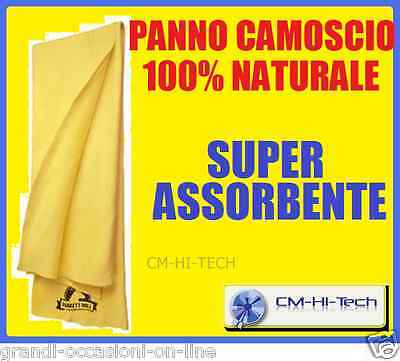 Pelle Di Daino Top Quality ! Per Cruscotto Auto Moto Scooter Casa Tv Argenteria!