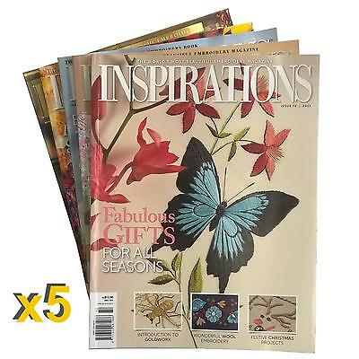 5 Pack #3 of New Inspirations Magazines Inc Patterns Sewing Free Postage +Bonus