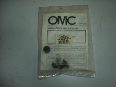 Genuine Evinrude Johnson Omc 0438618 Start Button Kit Assembly 40Hp,50Hp