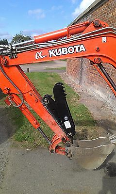 digger excavator  thumb grab, grapple, talon grip 1.5 - 2.5t 600mm fork, INC VAT