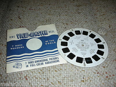 Vintage Sawyer's View-Master # 701 A Day at The Circus - I