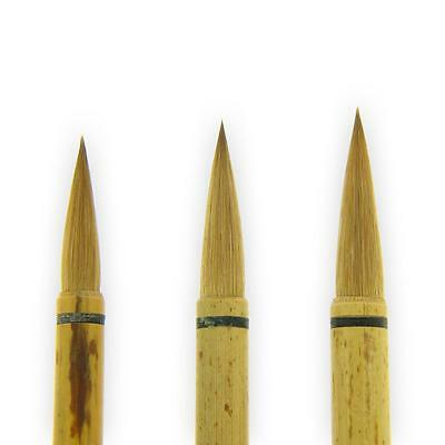 Small Medium Large Orchid Bamboo Chinese Calligraphy Painting Brush 兰竹毛笔 / 蘭竹毛筆