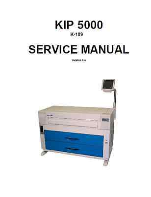 KIP 5000 Service Repair Manual