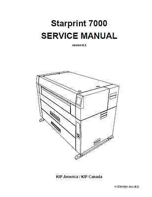 KIP 7000 Service Repair Manual
