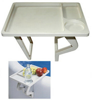 Hot Tub & Spa Drinks Tray Works on All Hard Shelled Spas and Hot Tubs Table Bar